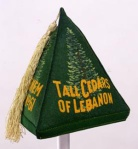 "The green felt hat...of the more ""social"" branch of the Masonic Lodge...The Tall Cedars."